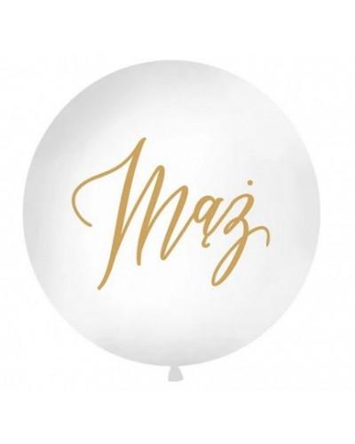 """Balon pastelowy Mąż 18"""" Okrągły"""