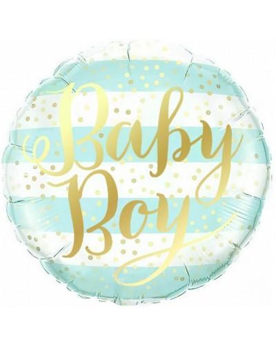 """Balon Foliowy Baby Boy 18"""""""