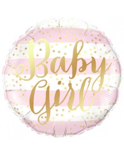 "Balon Foliowy Baby Girl 18"""