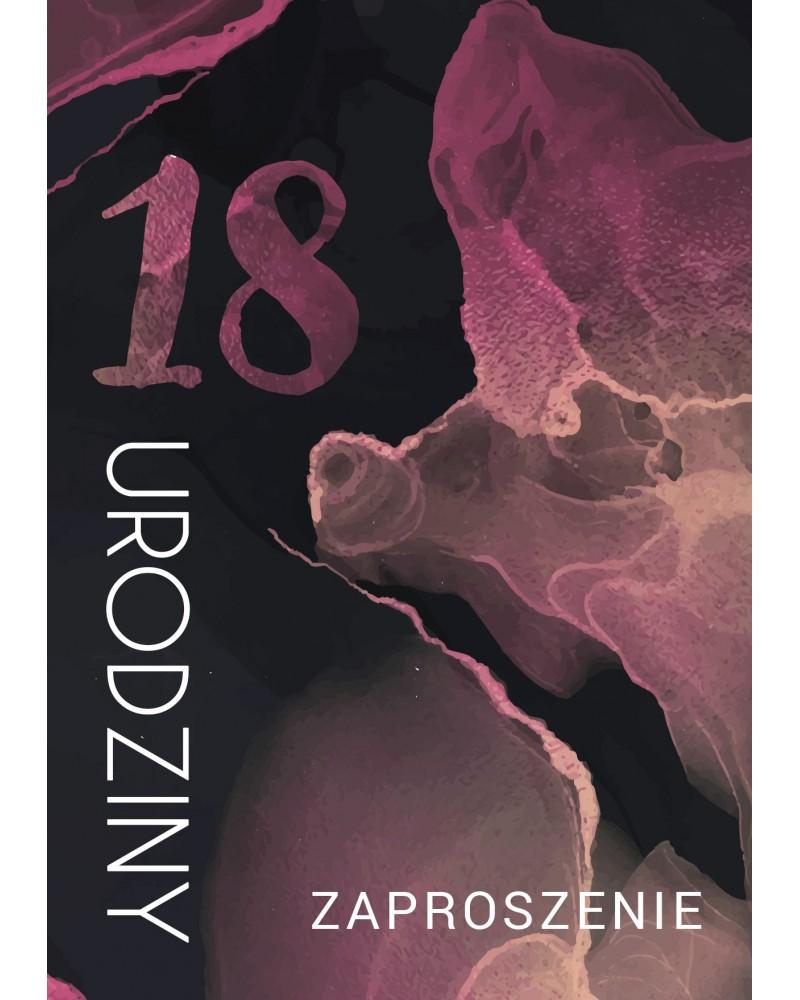 Zaproszenie na 18-stke Rose Pollock