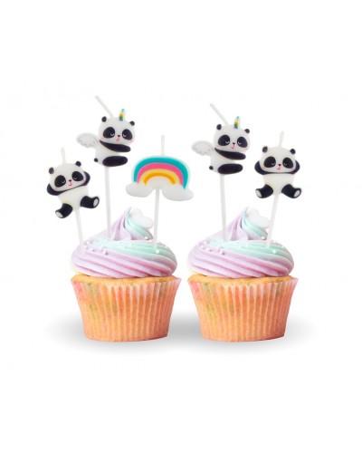 Świeczki pikery Panda