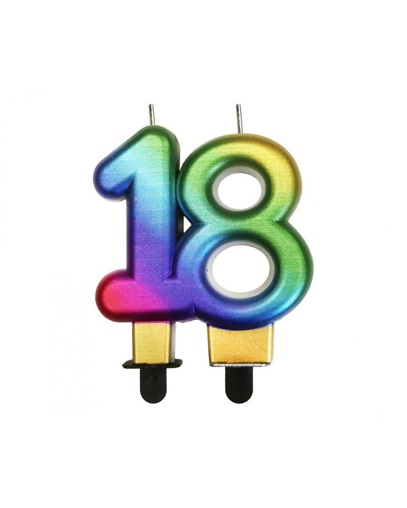 Świeczka na 18 urodziny Galaxy