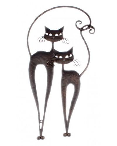 Dekoracja Ścienna Koty