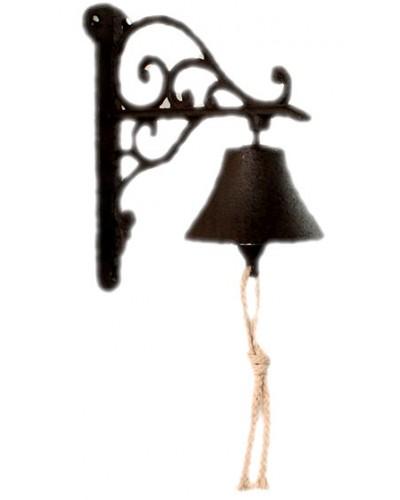 Żeliwny Dzwonek Dekoracja Przy Drzwiach