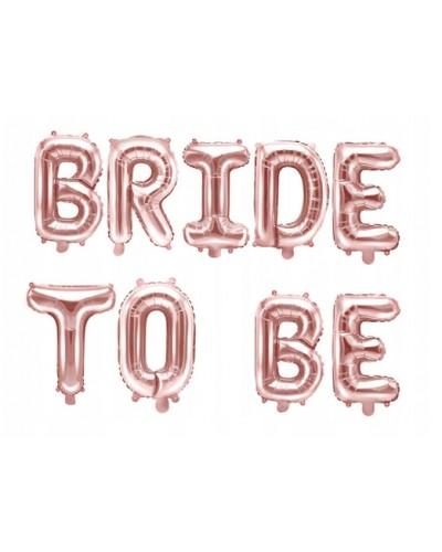 Balon Na Panieński Bride To Be Rose Gold