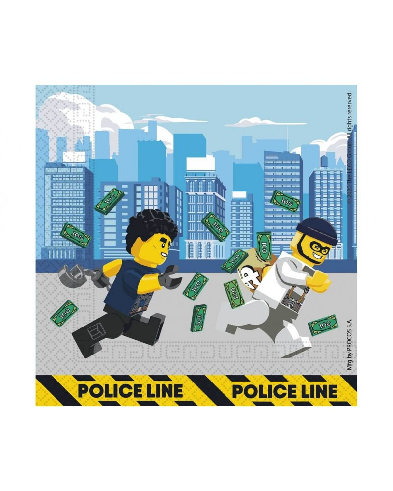 Serwetki papierowe Lego City