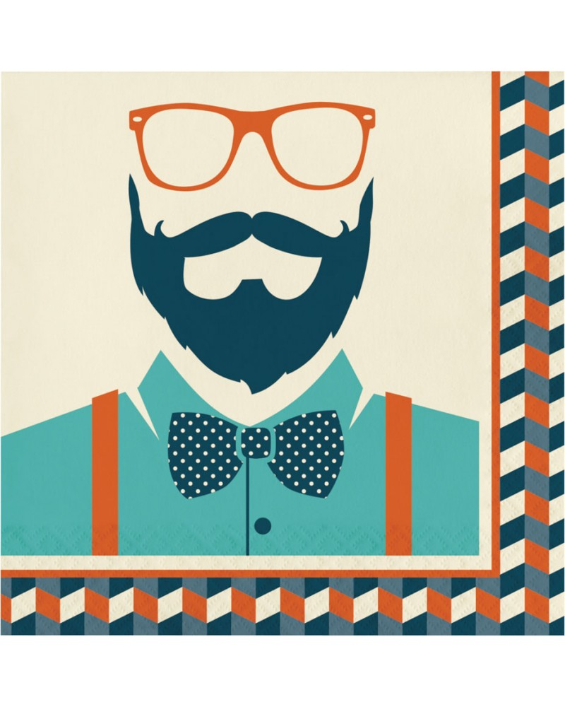 Serwetki papierowe Hipster