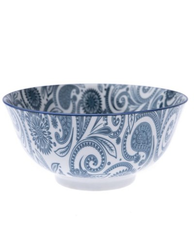Miska Porcelanowa Floral Blue Art