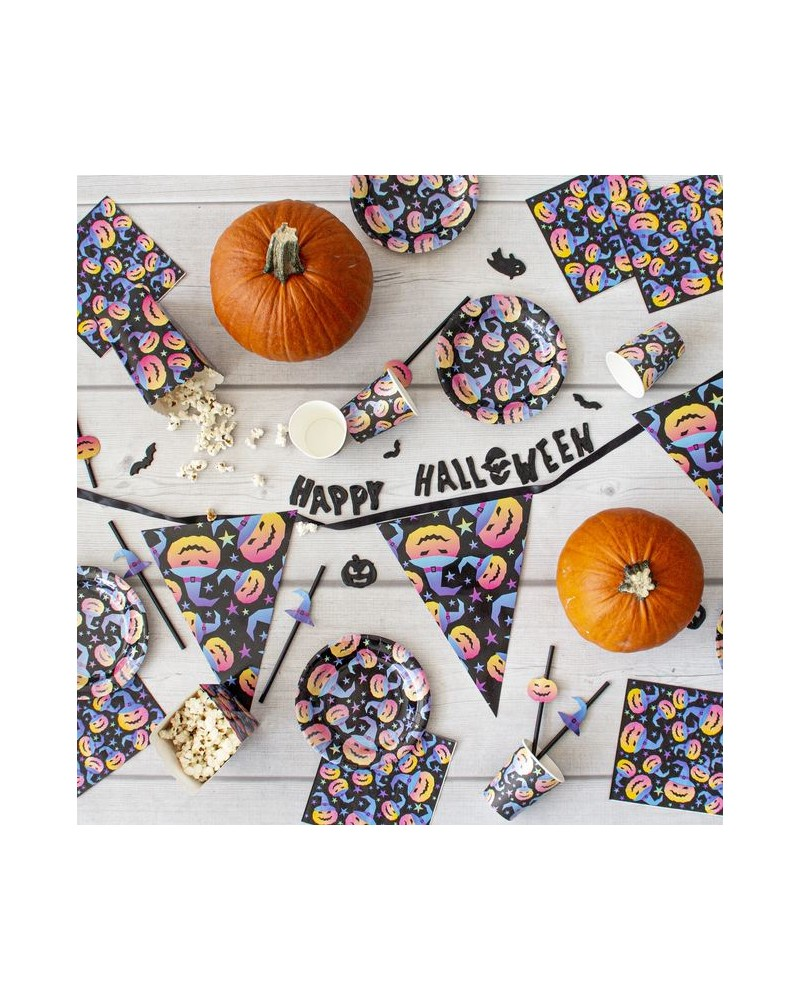 Girlanda Papierowe Flagietki Halloween 3m