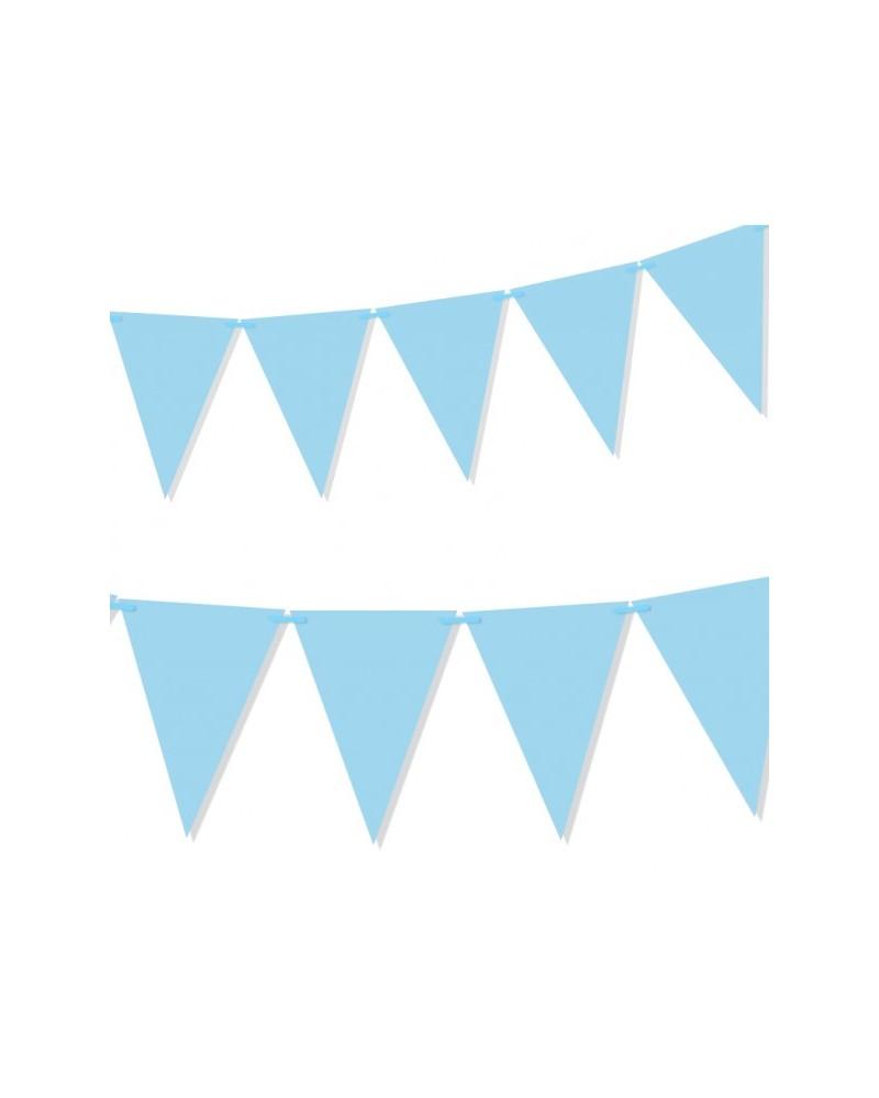 Flagietki na urodziny Niebieska