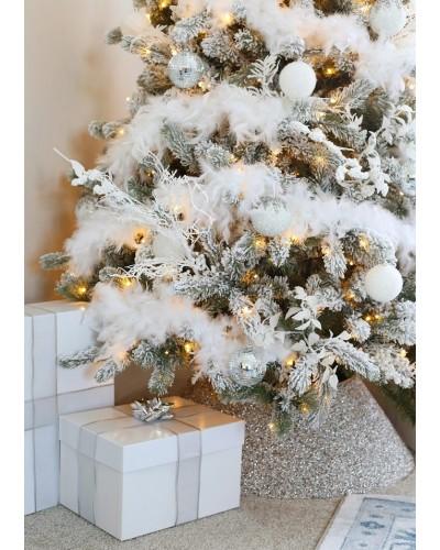 Boa w kolorze białym 180cm