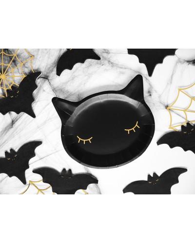Talerzyki Mroczny Kotek Halloween