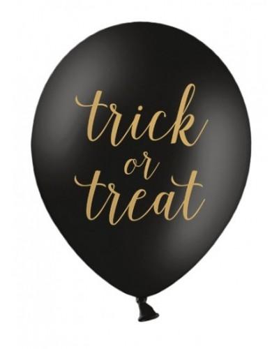 Balon 30 cm, Trick or Treat, Pastel Black