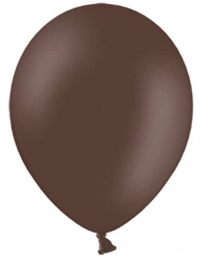 "Balony pastelowe 12"" Brązowe"