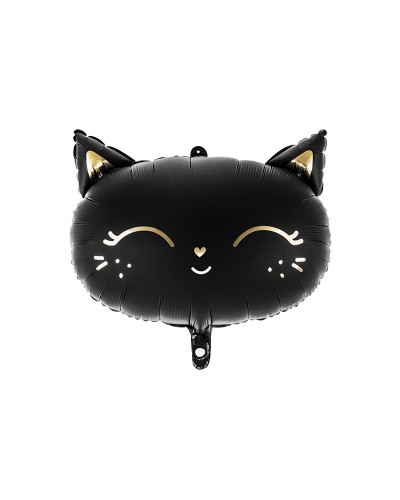 Balon foliowy KOTEK Black Cat Mat
