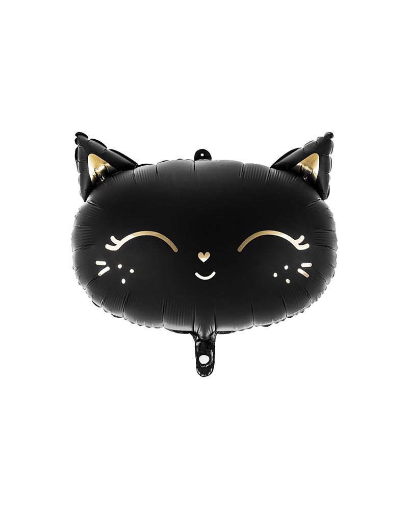 Balon foliowy Black Cat Mat