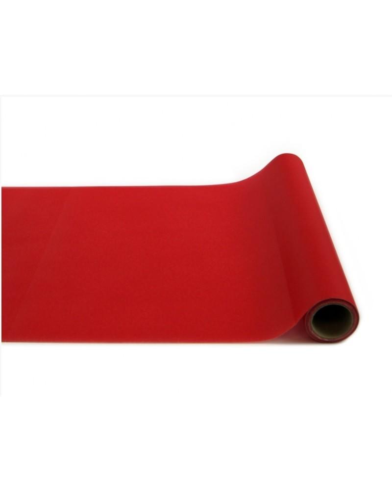 Bieżnik flizelinowy czerwony