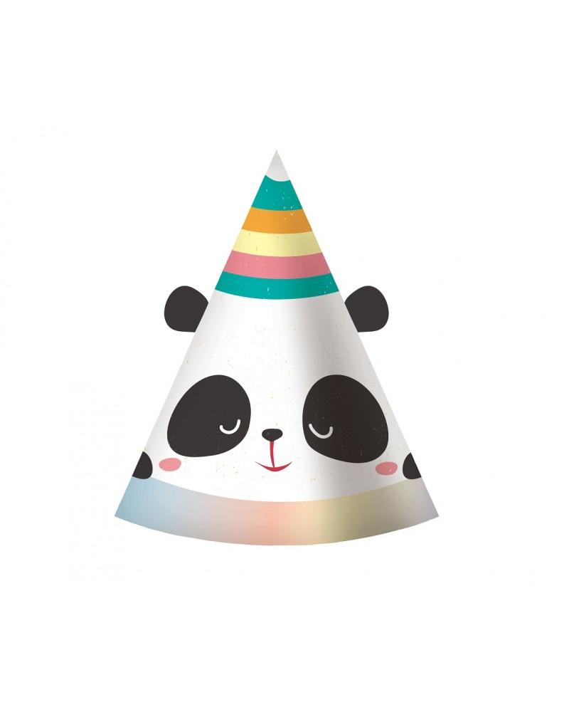 Czapeczki Papierowe Panda