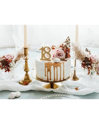 Świeczka urodzinowa 18 Glamour
