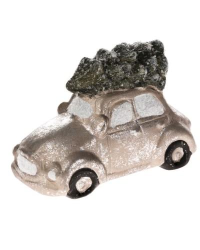 Samochodzik Figurka Świąteczna