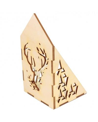 Świecznik Drewniany Dekoracja Domu Naturalny