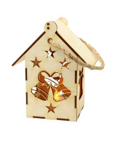 Lampion Adwentowy Świąteczne Dzwonki