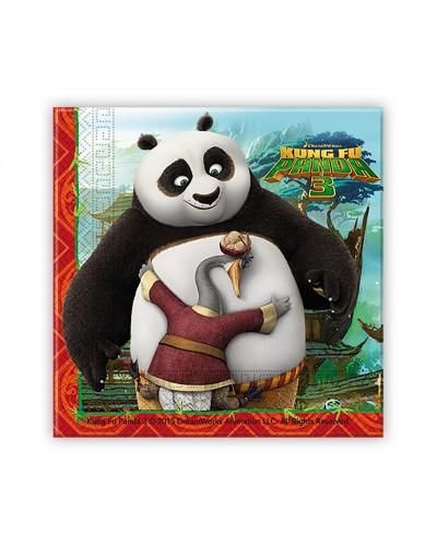 Serwetki papierowe KungFu Panda