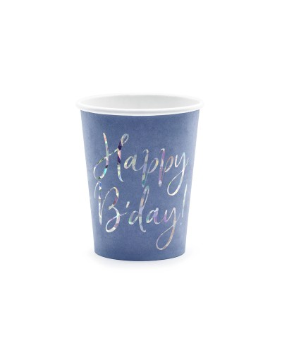 Kubeczki urodzinowe Happy Bday