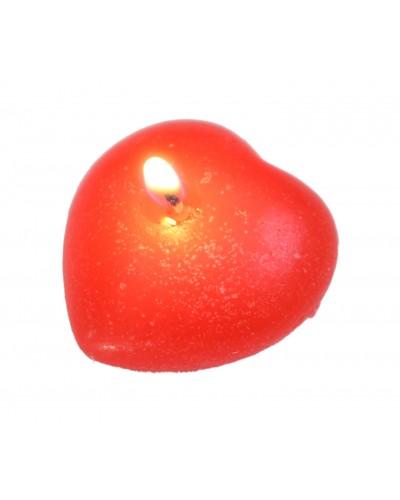 Świeczka Pływająca Czerwone Serce