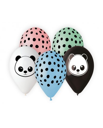 "Balony lateksowe Premium ""Panda"""