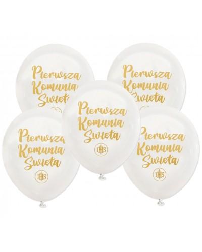 Balony Na Pierwszą Komunie Świętą