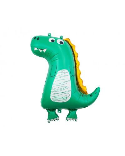 Balon foliowy Dino-Dinozaur rysunkowy