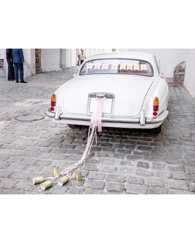 Zestaw dekoracji samochodowych - Mąż, Żona