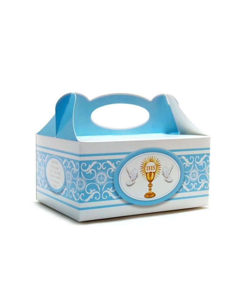 Pudełko na ciasto o charakterze komunijnym