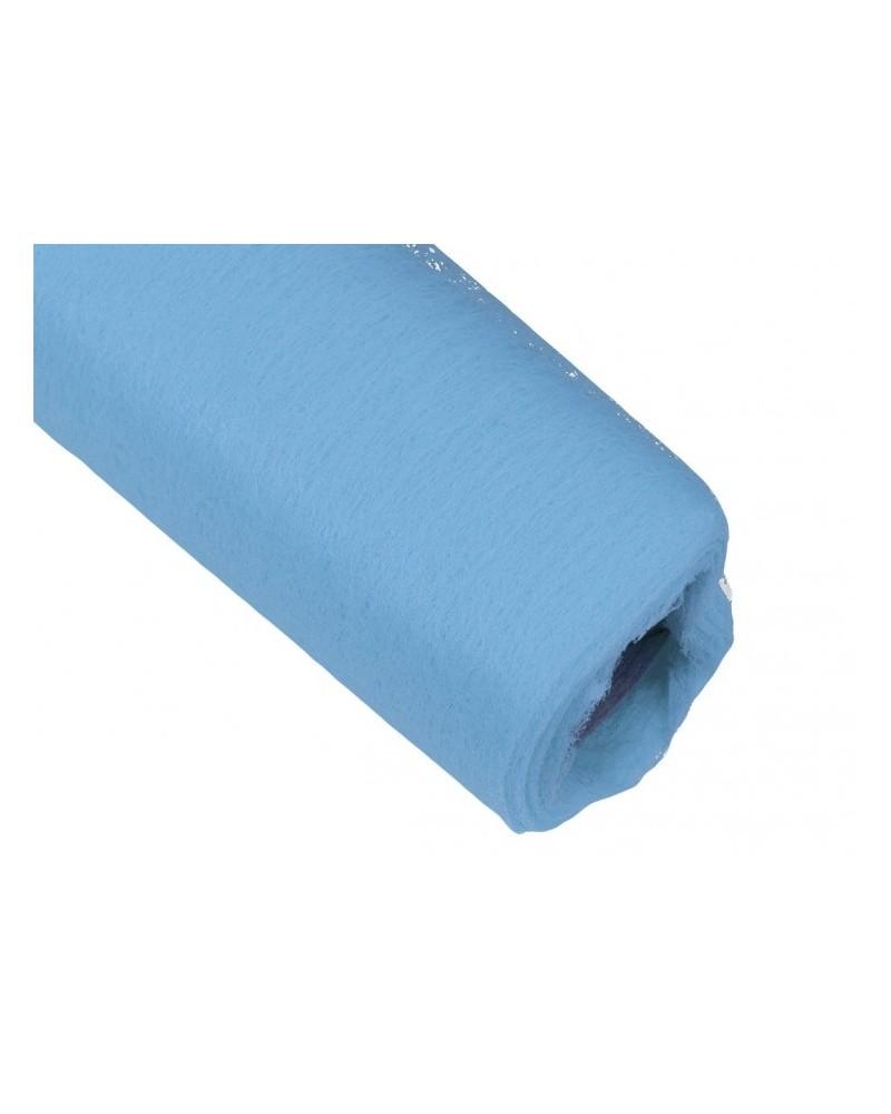 Flizelina 50cm Rolka błękitna