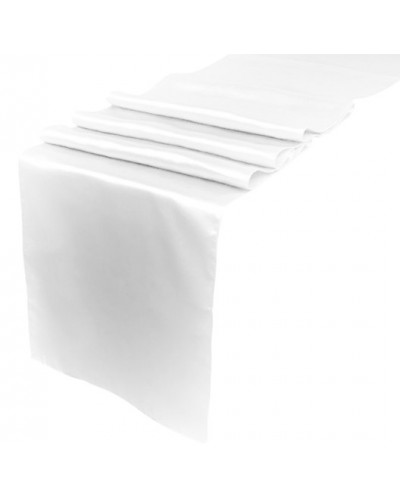 Bieżnik Satynowy Biały 36cm x 9m
