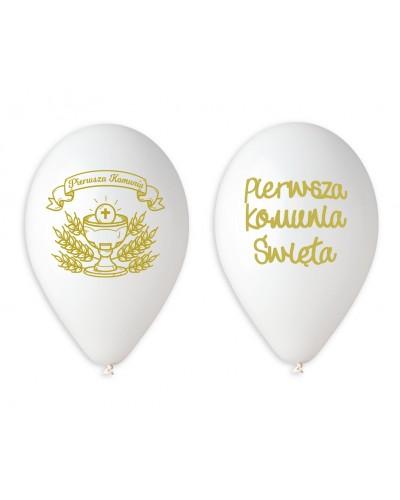 Balony Pierwsza Komunia Święta Gemar
