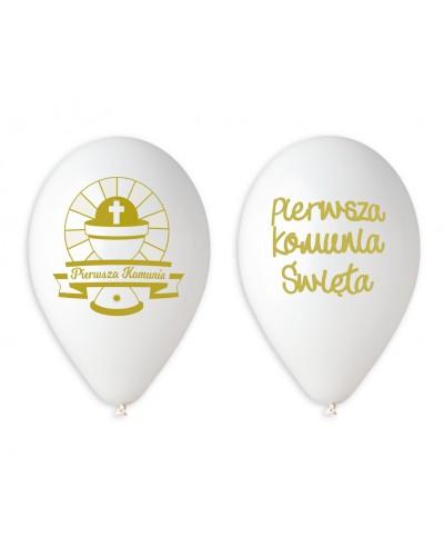Balony Pierwsza Komunia Gemar