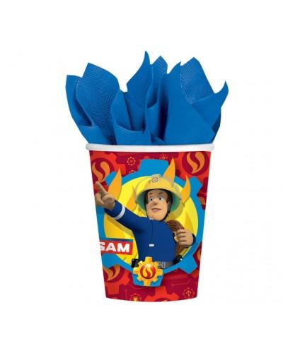 Kubeczki papierowe Strażak Sam