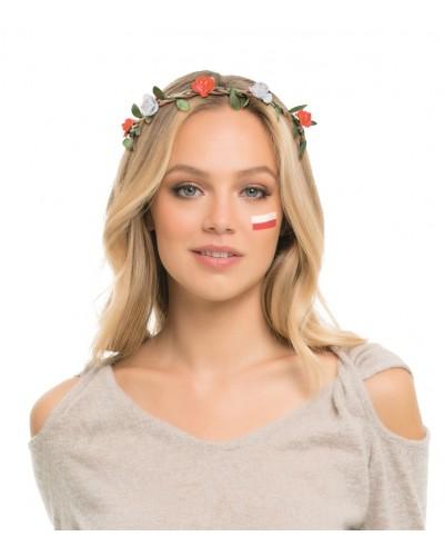 Wianek Różyczki Polska Biało-Czerwoni