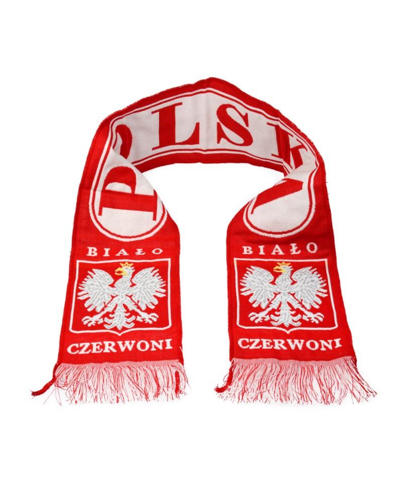 Szalik Kibica Polska Biało Czerwoni