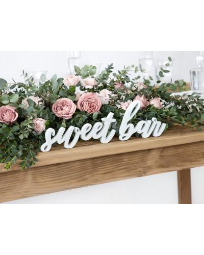Napis Na Stół Sweet Bar