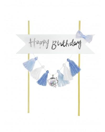 Piker Happy Birthday Blue