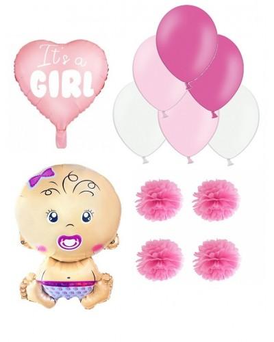 Zestaw na Baby Shower, dla dziewczynki