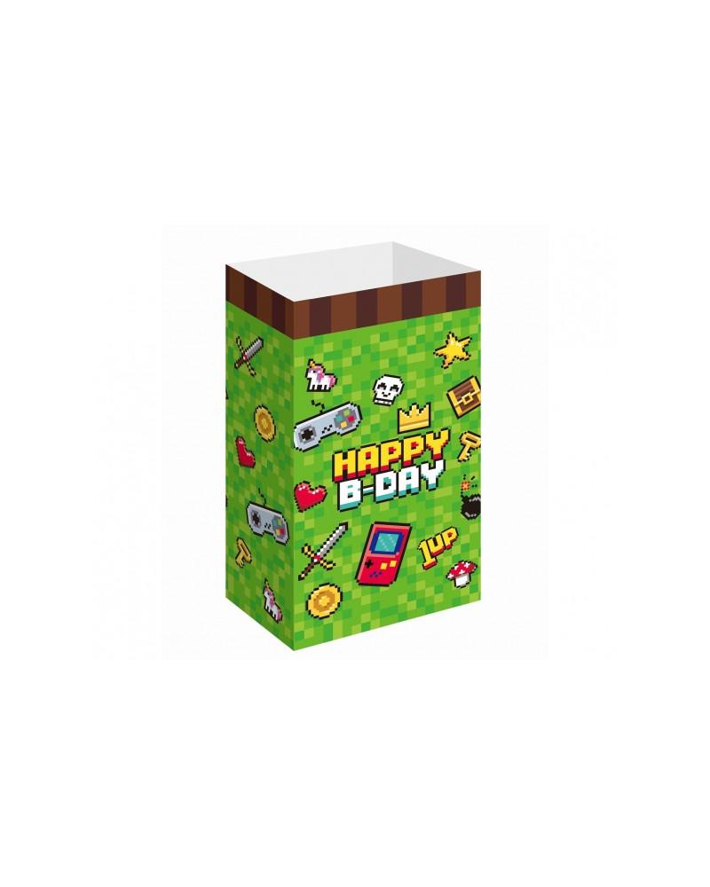 Pudełeczka na Popcorn Gamingowe 6 szt.