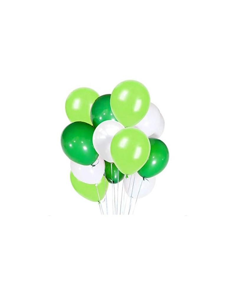 Zestaw na Urodziny Balony Greenery 24 szt.