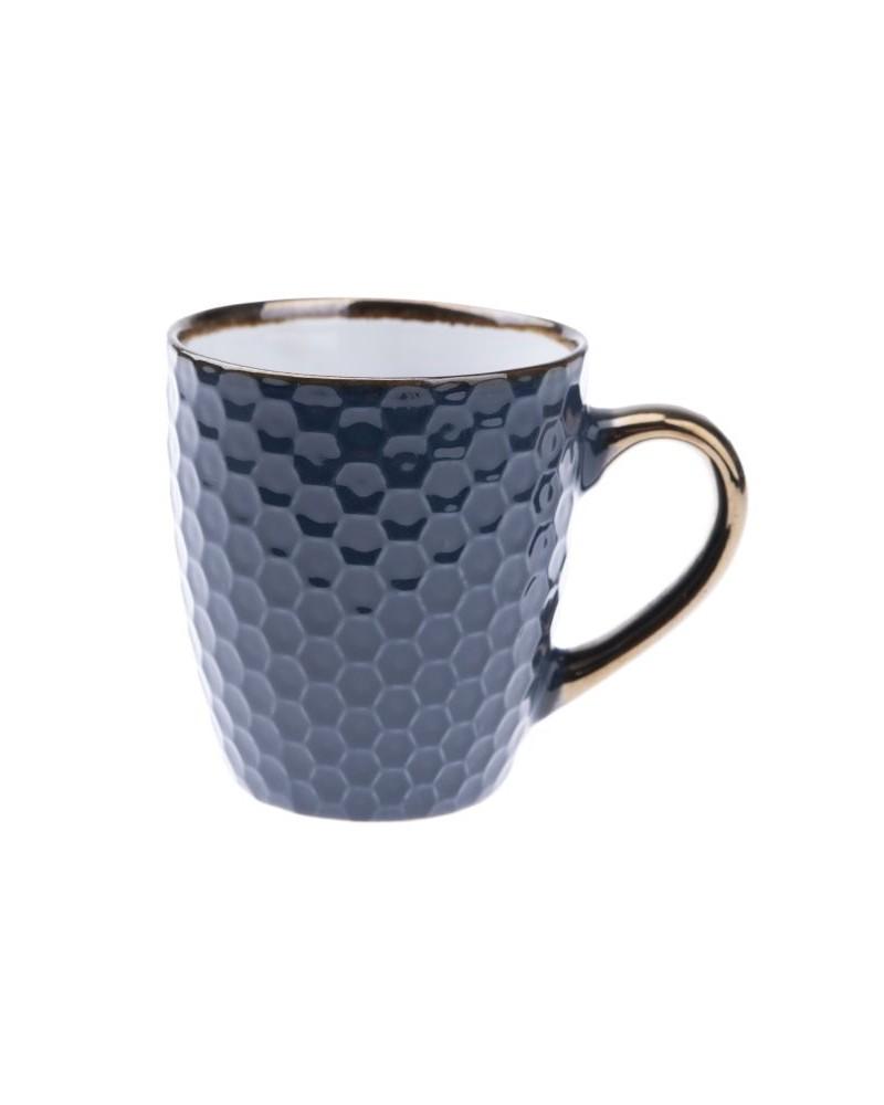 Kubek Ceramiczny w kolorze Granatowym