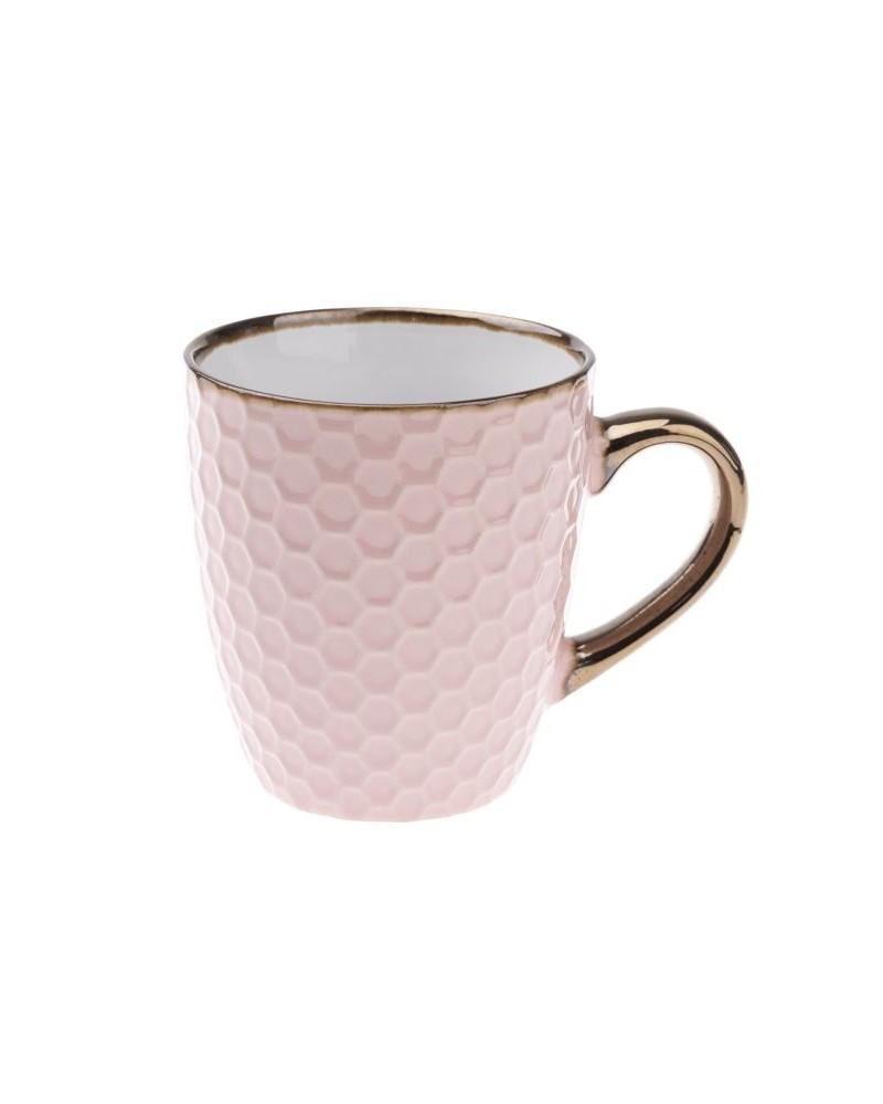 Kubek Ceramiczny w kolorze Pudrowym