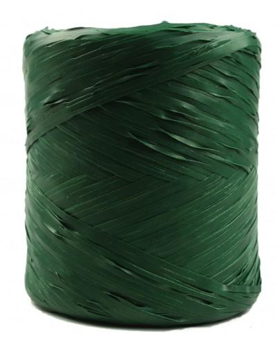 Rafia w rolce butelkowa zieleń 200m