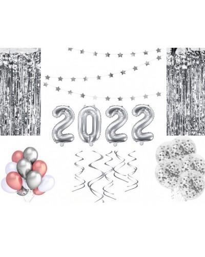 Zestaw Srebrnych Dekoracji Na Sylwestra 2022